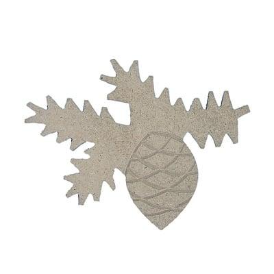 Декоративна фигура RicoDesign, ШИШАРКА, MDF, 8/10.5/0.5 cm