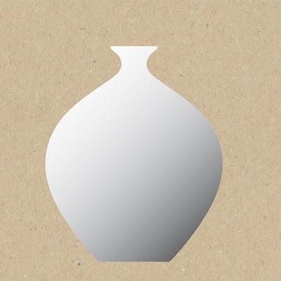 Декоративна фигура RicoDesign, ВАЗА, SILVER, 15.5/14 cm