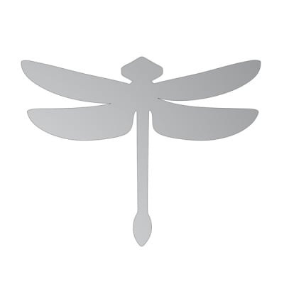 Декоративна фигура RicoDesign, ВОДНО КОНЧЕ, SILVER, 9.5/13.5 cm