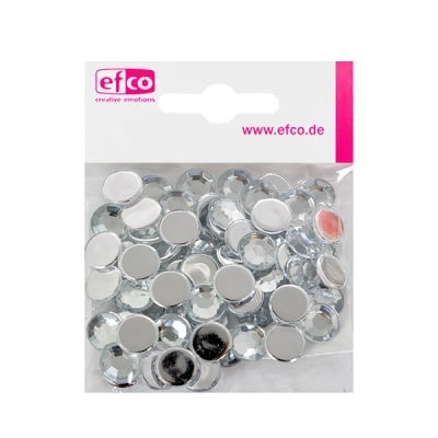 Декоративни камъчета, Acryl facettiert, 12 mm, 75 бр.