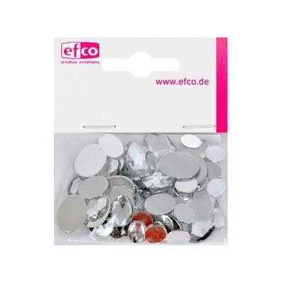 Декоративни камъчета, Acryl facettiert, Set Oval, 30/10/10/2 Stk.