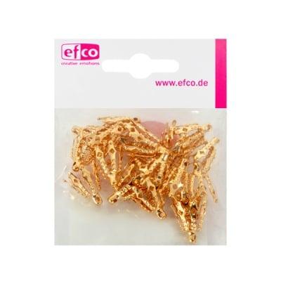 Декоративно капаче за перла, 10 mm, 20 броя, злато