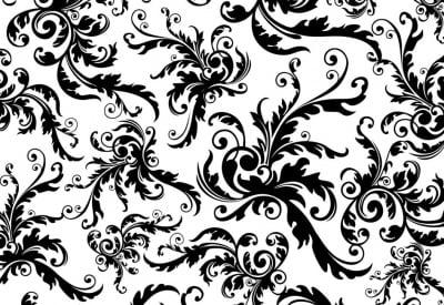 Декупажна хартия, 60 gr/m2, 33 x 48 cm, 1л, Черно и Бяло
