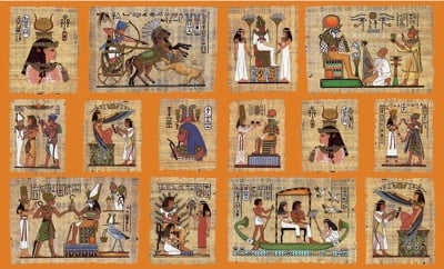 Декупажна хартия, 60 gr/m2, 33 x 48 cm, 1л, Египет