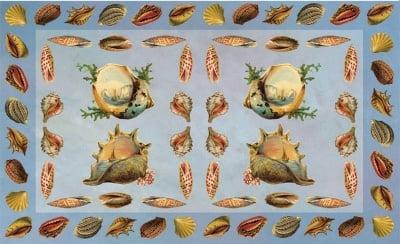 Декупажна хартия, 60 gr/m2, 33 x 48 cm, 1л, Сбирка от раковини