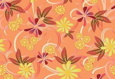 Декупажна хартия, 60 gr/m2, 33 x 48 cm, 1л, Вълшебни цветя