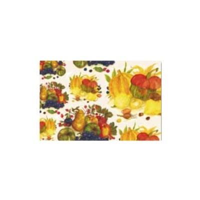 Декупажна хартия с мотиви, 40 g/m2, 50 x 70 cm, 1л, Есенни плодове