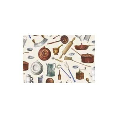 Декупажна хартия с мотиви, 40 g/m2, 50 x 70 cm, 1л, Кухненски пособия