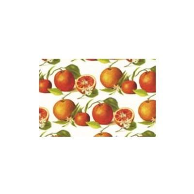 Декупажна хартия с мотиви, 40 g/m2, 50 x 70 cm, 1л, Портокали