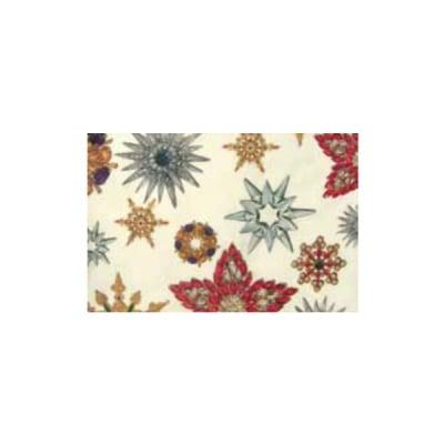 Декупажна хартия с мотиви, 40 g/m2, 50 x 70 cm, 1л, Украшения звезди