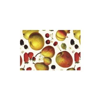 Декупажна хартия с мотиви, 85 g/m2, 50 x 70 cm, 1л, Плодове