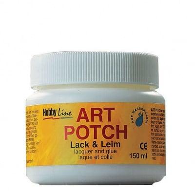 Декупажно лепило Art Potch Lack & Leim, 150 ml, мат