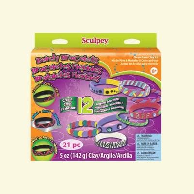 Детски комплект Activity Kit Sculpey, гривни