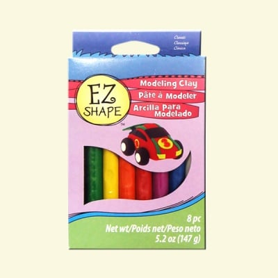 Детски комплект EZ Shape Sculpey, 4+, класик