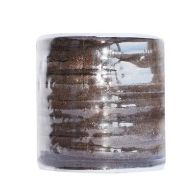 Кожен шнур, 3 mm, 22.8 m, кафяв