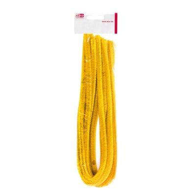 Декоративен гирлянд, ф 8 мм / 50 см, 10 броя, жълт