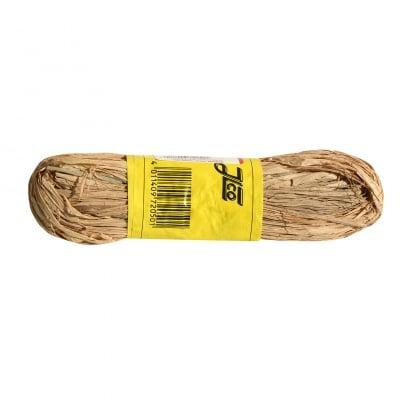 Raffia-Gartenbast, рафия гланц, 50 гр., натурална