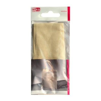Торбичка памучна, 28 x 24 cm, натурална