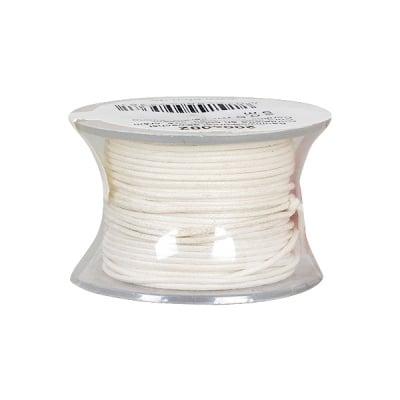 Восъчно памучен шнур, ф 0,5 mm, 9 m, кремав