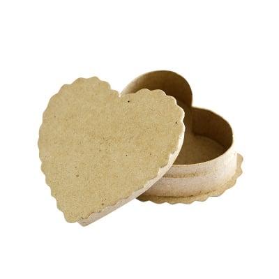 Картонена кутия, Сърце, 9.5х9х3.5 cm, 2 части