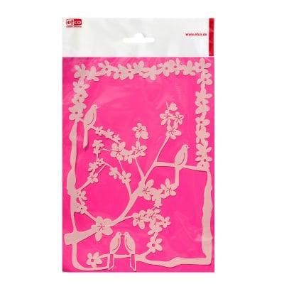 Шаблон, цветчета и птици/ 1 част, DIN A4