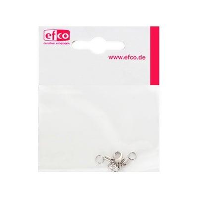Закопчалка за синджирче, 2 mm, 1 брой, сребриста