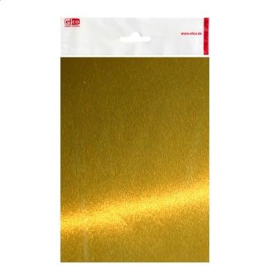 Алуминиево фолио, 20 х 30 см / 0,15 мм, 3 бр., злато