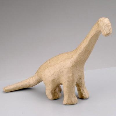 Фигура от папие маше, динозавър, 18 x 5 x 16 cm
