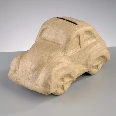 Фигура от папие маше, касичка 16,5 x 8,5 x 9 cm