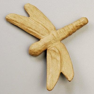 Фигура от папие маше, водно конче, 17 x 13 x 2,3 cm
