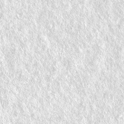 Филц лист, 20 x 30 cm х 2 mm, 100 % полиестер, 350 g/m2, бял