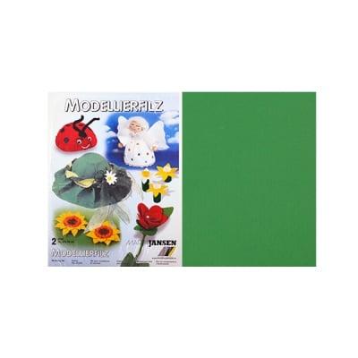 Филц моделиерски, 320 g/m2, 30 x 45 cm, 2л в пакет, елхово зелен