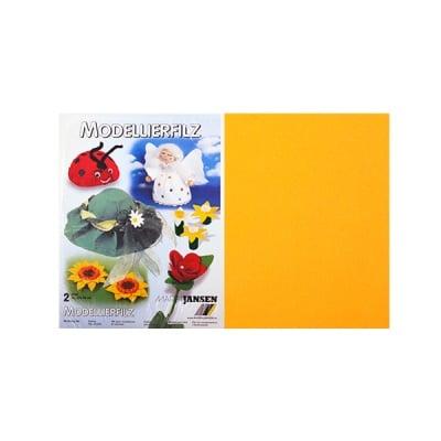 Филц моделиерски, 320 g/m2, 30 x 45 cm, 2л в пакет, жълт