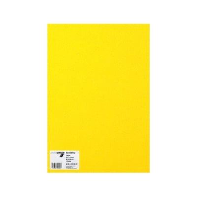 Филц текстилен, 3,5 mm, 30 x 45 cm, 1л в пакет, лимонено