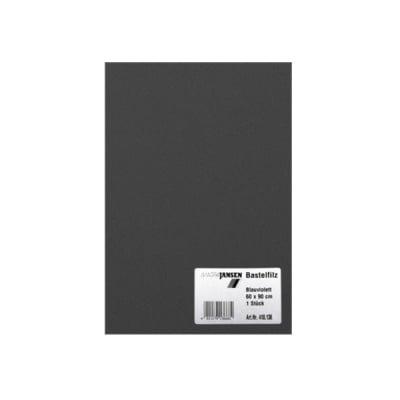 Филц занаятчийски 0,8-1 mm, 100% вискоза, черен