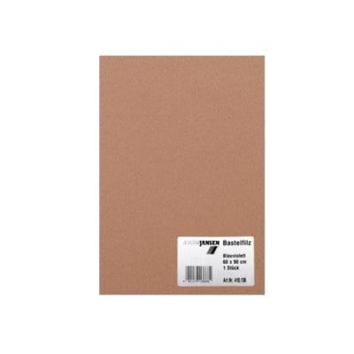 Филц занаятчийски 0,8-1 mm, 100% вискоза, еленово