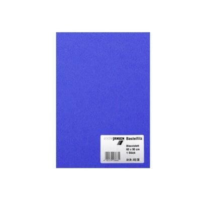 Филц занаятчийски 0,8-1 mm, 100% вискоза, нощно син