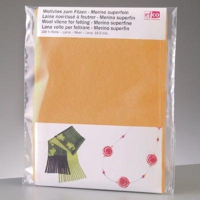 Филцов шал,  кремав, размери 120 х 20 см
