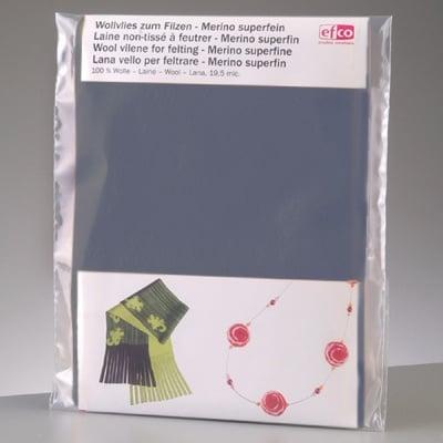 Филцов шал, сив, размери 120 х 20 см