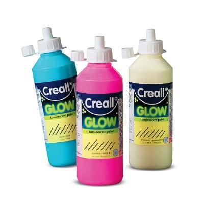 Фосфорисцентна боя CREALL GLOW, 250 ml