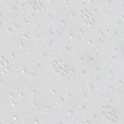 Фото картон с орнаментен лак, 220 g/m2, 47 x 69 cm, 1л, бял/цветчета