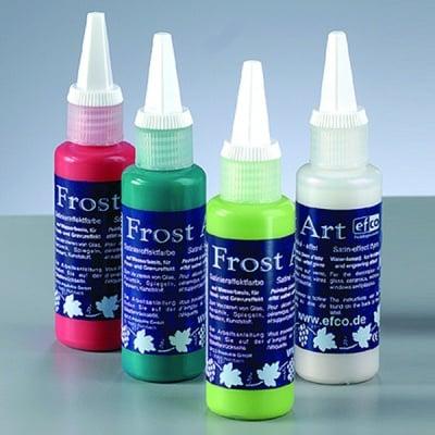 Frost Art, сатенени бои със заскрежен ефект, 50 ml