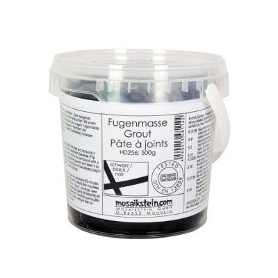 Фугираща смес за мозайка с кофичка, 500 g, черно