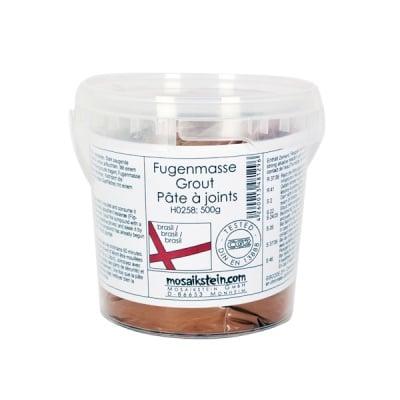 Фугираща смес за мозайка с кофичка, 500 g, светлокафяво