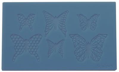 Силиконов молд Sculpey, Geo Butterfly
