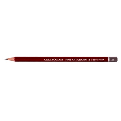 Графитен молив CretaColor, CLEOS FineArtGraphite, 1 бр., 2B