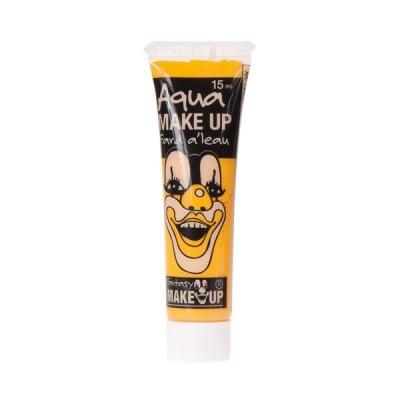 Грим за лице гел Aqua Make Up, 15 g, жълт