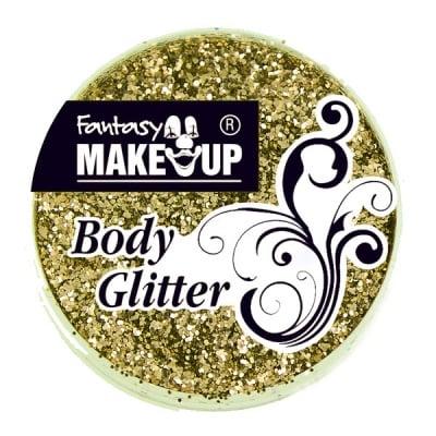 Грим за тяло гел Korperflitter Glitter, 10 g, златен
