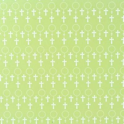Варио картон,250 g/ m 2,50 x 70 cm, 1л, кръст / зелен