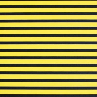 Варио картон, 300 g/m2, 50 x 70 cm, 1л, черен в жълто рае